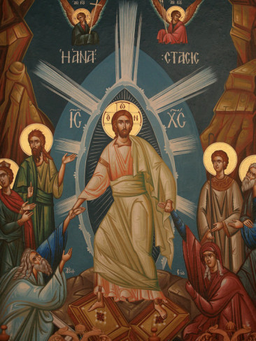 Image result for goarch icon of the resurrection